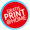 Gratis Print @ Home / Mobileticket