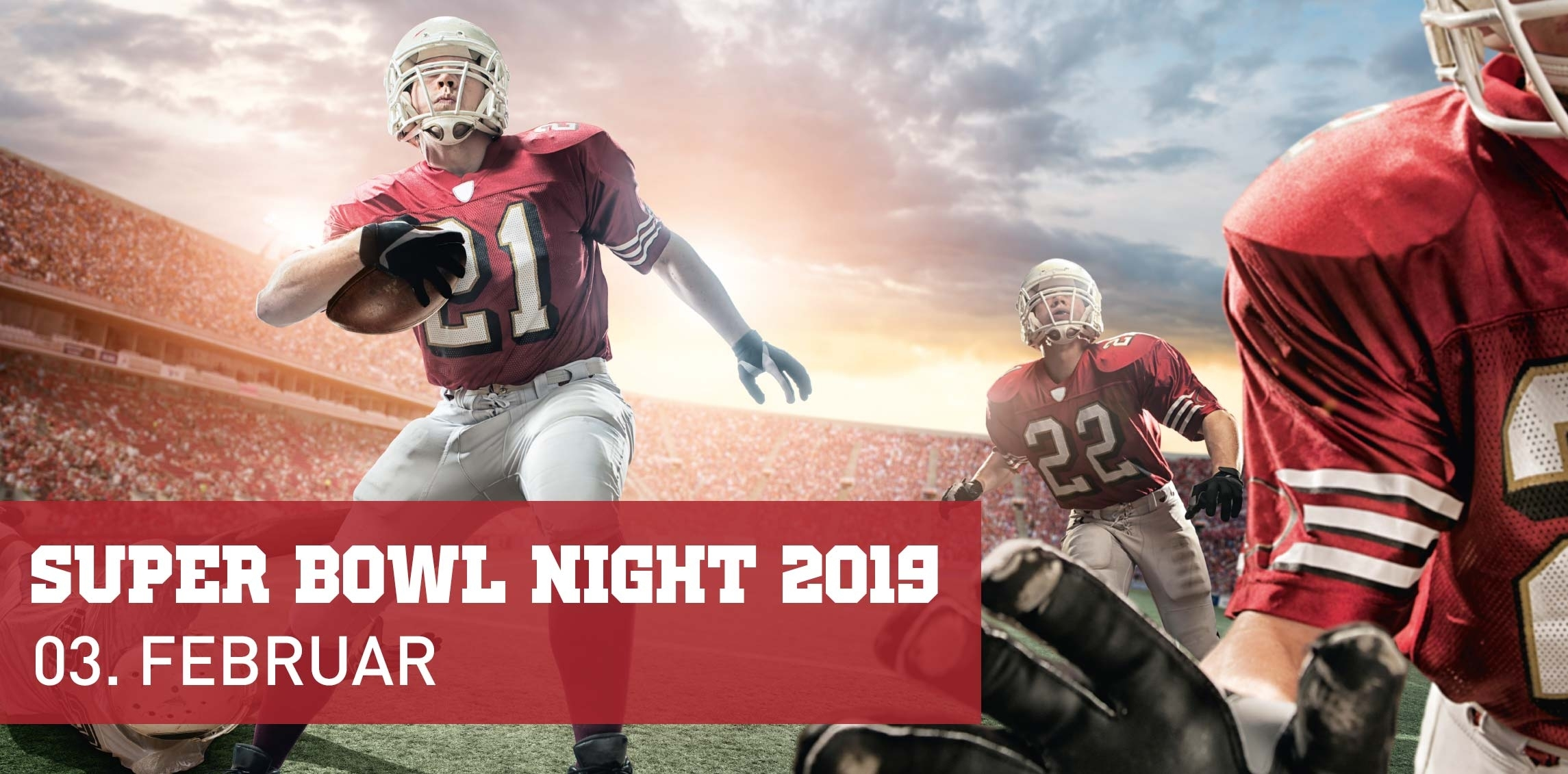 Super Bowl Night 2016 © Arcotel Wimberger