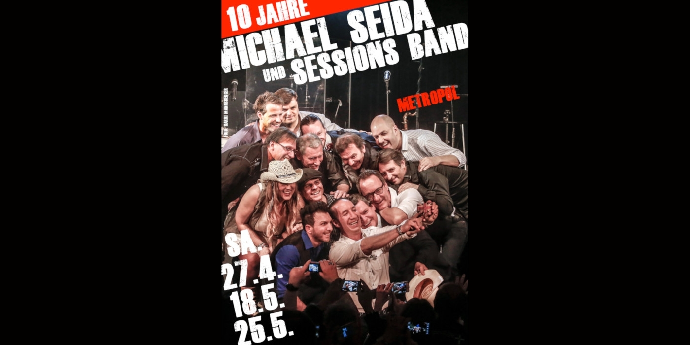 Michael Seida & Sessions Band © Harri Mannsberger
